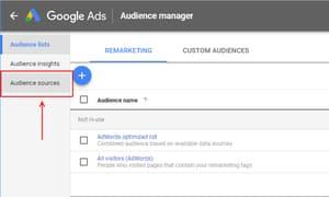 google audience tag